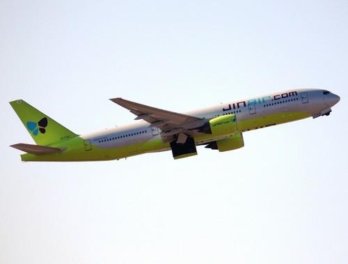 самолет Jin air